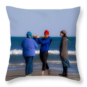 Pied Piper Throw Pillow by Al Powell Photography USA
