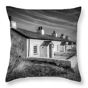 Pilot Cottages Throw Pillow by Adrian Evans