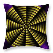 Pinwheel Throw Pillow by Christopher Gaston