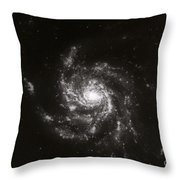 Pinwheel Galaxy, M101 Throw Pillow by Science Source