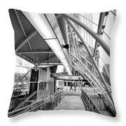 Pittsburgh Lines 2 Throw Pillow by Emmanuel Panagiotakis