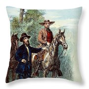 Plantation: Overseer, 1867 Throw Pillow by Granger