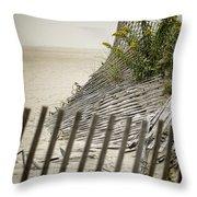 Point Pleasant Beach Throw Pillow by Heather Applegate