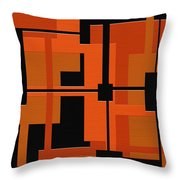 Ponder Throw Pillow by Ely Arsha