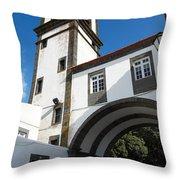 Portuguese Architecture Throw Pillow by Gaspar Avila