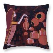 Potter Throw Pillow by Vilas Malankar