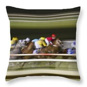 Power Throw Pillow by Betsy Knapp