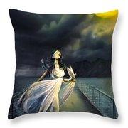 Power Of Faith Throw Pillow by Svetlana Sewell