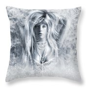 Pretty Storm Throw Pillow by Svetlana Sewell