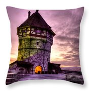 Princes Tower Throw Pillow by Syed Aqueel