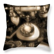 Princess Phone Throw Pillow by Mike McGlothlen
