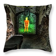 Prisoner Of The Soul Throw Pillow by Andrew Paranavitana
