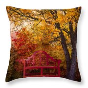 Promises Made Throw Pillow by Debra and Dave Vanderlaan
