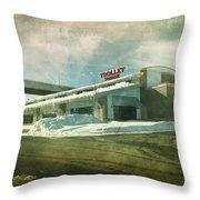Pullman's Restaurant Throw Pillow by Joel Witmeyer