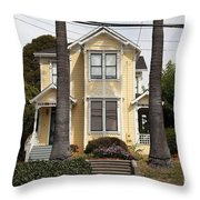 Quaint House Architecture - Benicia California - 5d18591 Throw Pillow by Wingsdomain Art and Photography