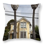 Quaint House Architecture - Benicia California - 5D18592 Throw Pillow by Wingsdomain Art and Photography