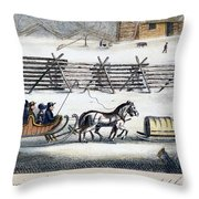 Quakers Throw Pillow by Granger