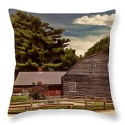 Quest In Time Throw Pillow by Lourry Legarde
