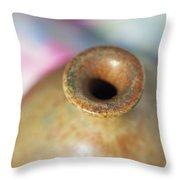Rare John Regis Tuska Pottery Vase Throw Pillow by Kathy Clark