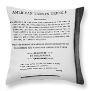 Ray: Horrors Of Slavery Throw Pillow by Granger