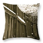 Realm Of Thought Throw Pillow by Gwyn Newcombe
