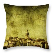 Recollection Throw Pillow by Andrew Paranavitana