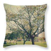 Redemption Throw Pillow by Laurie Search