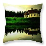 Reflection Of Faith  Throw Pillow by Jerry Cordeiro
