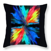 Reflection Throw Pillow by Sumit Mehndiratta