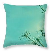 Regeneration Throw Pillow by Georgia Fowler