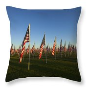 Remember 911 Throw Pillow by Mike  Dawson