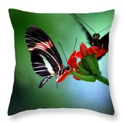 Reservations For Two Throw Pillow by Skip Willits