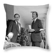 RICHARD CHENEY (1941- ) Throw Pillow by Granger
