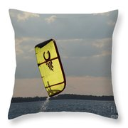 Rise From The Depths Throw Pillow by Rrrose Pix