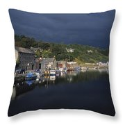 River Barrow, Graiguenamanagh, Co Throw Pillow by The Irish Image Collection