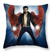 Rock Star Throw Pillow by Setsiri Silapasuwanchai