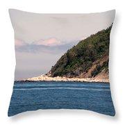 Rocky Hill Throw Pillow by Janice Drew