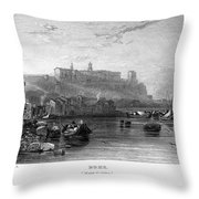 Rome: Aventine Hill, 1833 Throw Pillow by Granger