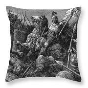 Rome: Belisarius, C537 Throw Pillow by Granger