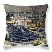 Rome: Perpetua & Felicitas Throw Pillow by Granger