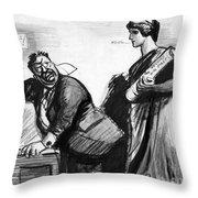 Roosevelt Cartoon, C1916 Throw Pillow by Granger