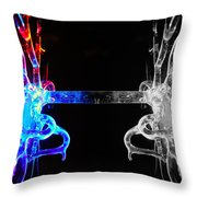 Roots Throw Pillow by Sumit Mehndiratta