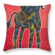 Rope One Throw Pillow by Lance Headlee