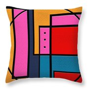 Rover Throw Pillow by Ely Arsha