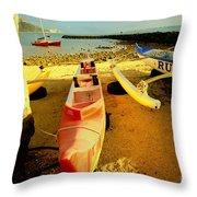 Russ K Throw Pillow by Cheryl Young