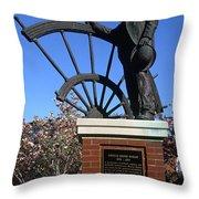 Ryman Auditorium Throw Pillow by Thomas R Fletcher