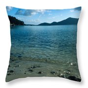 Sailing Away 2 Throw Pillow by Kathy Yates