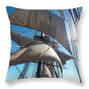 Sails And Sunshine Throw Pillow by L Jaye Bell