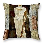 Saint George - Montserrat Throw Pillow by Juergen Weiss