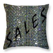 Sales Gallery Throw Pillow by Will Borden